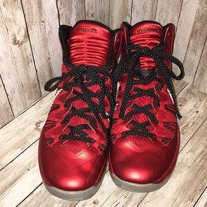 Nike Hyperdunk Metallic Red/Black/Wolf Grey 8M/6W